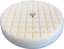 "8"" White Cutting LAKE COUNTRY Cross Cut Foam Buff Pad 38140"