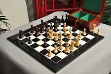 The Zagreb '59 Chess Set, Box and Board Combination - Rosewood Gilded