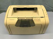 HP LaserJet 1018 Standard Laser Printer - Black and White only