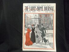 1901 MARCH LADIES' HOME JOURNAL MAGAZINE - GREAT ILLUSTRATIONS & ADS - ST 1639