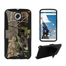 Beyond Cell Shell Case Armor Kombo For Google Nexus 6 Hunter Tree Camo Hunter...