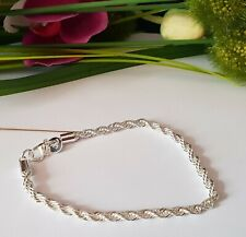 5 Stück Armbänder 925 Silber Pl Twist Markt Händler Posten Konvolut Armband NEU