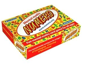 Numero Mental Math's Card Games Educational Resource Kids Learning
