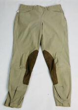 Tailored Sportsman tan breeches 30 regular side zip style 1955