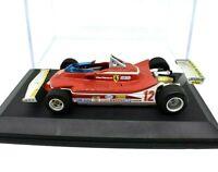 Ferrari F1 312 T4 Formula 1 1:43 Model Car diecast Hot Wheels Gp Villeneuve