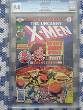 The Uncanny X-Men 123, CGC 9.8, W pg; Spider-man & Arcade app