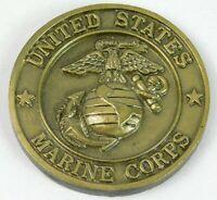 """USMC Air Ground Logistics Team MEF 2001 Challenge Coin, 1 1/2"""""""