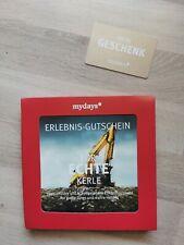 Mydays Erlebnis Gutschein Echte Kerle Wert 99€