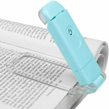 More details for dewenwils amber reading light clip on book led reading light usb rechargeable