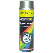 1 x Motip Felgenlack Stahlglanz Spray 500ml 04010 Steel Wheel 1