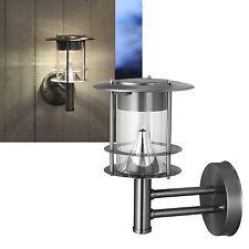 Best Season 477-75 - Lámpara Led solar de pared acero inoxidable aprox. 25 X