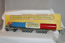 CIJ FRANCE DIECAST RENAULT BOURGEY & MONTREUIL NUCLEAR WASTE TRANSPORT