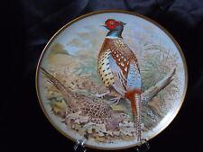 Assiette collection Gamebirds Oiseau FRANKLIN HAVILAND LIMOGES Faisan chinois
