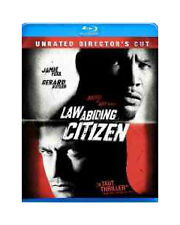 LAW ABIDING CITIZEN BLU RAY MOVIE JAMIE FOXX 2 DISC SET UNRATED DIRECTOR'S CUT