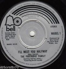 THE PARTRIDGE FAMILY I'll Meet You Halfway / Breaking Up / I Think I Love You 45