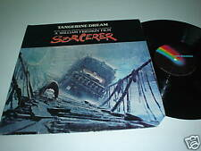 TANGERINE DREAM Sorcerer -77 Soundtrack US LPkrautrock