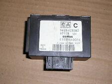 1997 Peugeot 306 1.9 Diesel alarme/coupe-circuit Module de contrôle - 9625403080