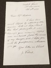 3rd Letter From Orenford House, St Lawrence, Jersey 7th October 1877.