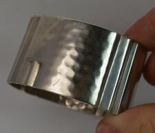 Retro Solid Silver Continental Napkin Ring
