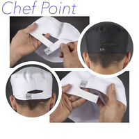 2 PACK CHEF HAT WORKCOOL VENTILATED / SKULL CAP, WHITE OR BLACK, CHEF ARMOUR
