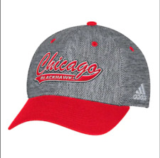 Adidas Chicago Blackhawks Structured Flex-Fit NHL Cap S/M