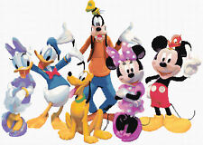 1Mickey Mouse Clubhouse Counted Cross Stitch Kit Disney/Film/Tv characters