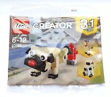 LEGO 30542 Creator 3 in 1 CUTE PUG Polybag. NEW & SEALED