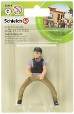 RECREATIONAL RIDER, PURPLE BY Schleich; 42164/ horse accessories/RETIRED