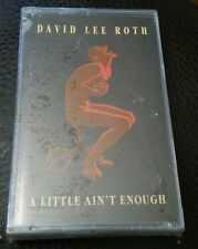 SEALED A Little Ain't Enough - David Lee Roth Cassette Jan-1990 Warner Bros