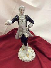 Royal Dux Porzellan Figur Barock Mann