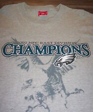 RETRO PHILADELPHIA EAGLES 2002 NFC EAST CHAMPS NFL FOOTBALL T-shirt Shirt  MEDIUM 389de0fc0
