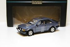 1:18 Sun Star ford escort xr3i MkIII Caspian Blue sp New en Premium-modelcars