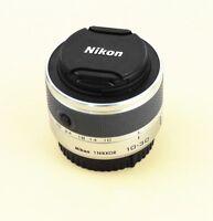 Silber Nikon 1 NIKKOR 10-30 mm F/3.5-5.6 VR Zoom Objektiv v1 v2 s1 s2 J1 J2 J3