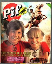 -°- PIF GADGET n°487 -°- 07/1978 -°- FANFAN LA TULIPE / LES DOSSIERS MYSTERES