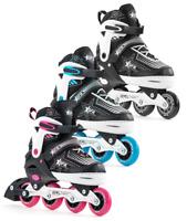 SFR Pulsar Kids Adjustable Size Inline Skates Boys and Girls