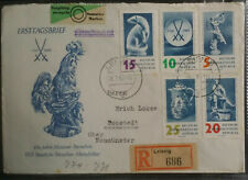 Germany DDR 1960 250th Anniversary Meissen Porcelain Factory FDC  Postal History