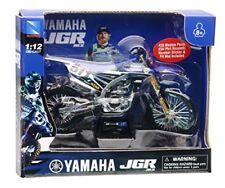 Motocicletas y quads de automodelismo y aeromodelismo motocross azules de escala 1:12