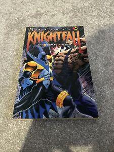 Batman knightfall part 2 who rules the night dc paperback tpb graphic novel