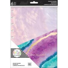 MAMBI The CLASSIC Happy Planner - Pocket Folders - Everyday x6 w Foil