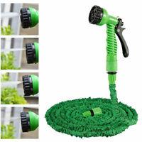 Flexible Magic Pipe Hose Expandable Garden Nozzle Spray Gun 7 Water Patterns