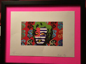 Death NYC  Original Lithograph, Artists Proof  2018 Hand Signed By Artist, COA