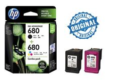 HP 680 Combo-pack Black/Tri-color Original Ink Cartridges