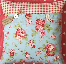 "Cath Kidston/IKEA ""Rosali Rose"" faîtes main tissu housse de coussin shabby chic"