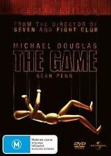 The Game DVD _ Michael Douglas _ SEAN PENN _ CULT CLASSIC- DAVID FINCHER FILM