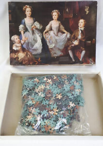 Vintage Falcon The Gallery 1000 piece Jigsaw puzzle No 3303 In box painting art