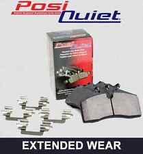 FRONT SET Posi Quiet Extended Wear Brake Disc Pads (+ Hardware Kit) 106.06020