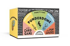 Punderdome Family Card Game For Pun Lovers RHP 654 Crown Publishing Party
