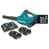 MAKITA XBU02PT1 Cordless Brushless Blower Kit 18V X2 (36V) LXT(R) with 4