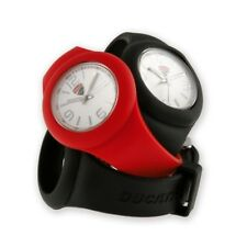 DUCATI Corse Quarz Silikon Armbanduhr Watch Wechselarmband schwarz rot NEU !!