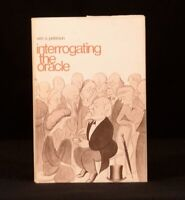 1969 William S Peterson Interrogating the Oracle Dustwrapper First